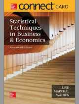 9781259924071-1259924076-Statistical Techniques in Business & Economics Connect Access Code