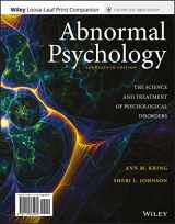9781119396116-1119396115-Abnormal Psychology: The Science and Treatment of Psychological Disorders, 14e WileyPLUS + Loose-leaf