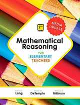 9780134758824-013475882X-Mathematical Reasoning for Elementary Teachers - Media Update (7th Edition)