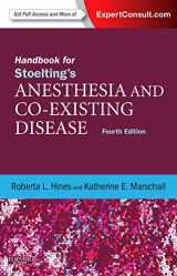 9781437728668-1437728669-Handbook for Stoelting's Anesthesia and Co-Existing Disease: Expert Consult: Online and Print