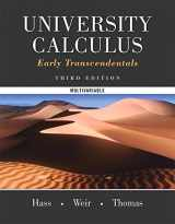 University Calculus, Early Transcendentals, Multivariable (3rd Edition)