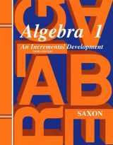 9781565771376-1565771370-Saxon Algebra 1 Solutions Manual