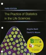 9781464175343-1464175349-The Practice of Statistics in the Life Sciences (Loose Leaf) & CrunchIt/EESEE Access Card (Budget Books)