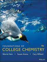 9781119231318-1119231310-Foundations of College Chemistry 15e Binder Ready Version + WileyPLUS Registration Card
