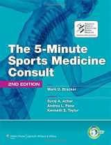 9781605476681-1605476684-The 5-Minute Sports Medicine Consult (The 5-Minute Consult Series)