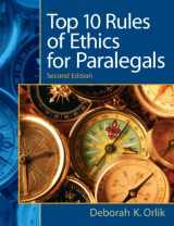 9780135063934-0135063930-Top 10  Rules of Ethics for Paralegals (2nd Edition)