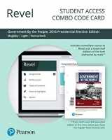 9780135235799-0135235790-Revel for Government By the People, 2016 Presidential Election Edition -- Combo Access Card (26th Edition)