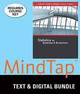 Bundle: Statistics for Business & Economics, Loose-leaf Version, 13th + MindTap Business Statistics with XLSTAT, 2 terms (12 months) Printed Access Card