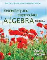 9780073384467-0073384461-Elementary and Intermediate Algebra (Hutchison Series in Mathematics)