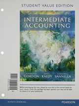 9780134047430-0134047435-Intermediate Accounting, Student Value Edition Plus MyLab Accounting with Pearson eText -- Access Card Package