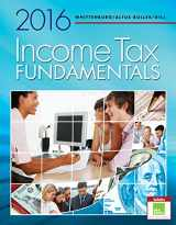 Income Tax Fundamentals 2016 (with H&R Block Premium & Business Software Printed Access Card)