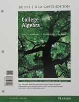 College Algebra, Books a la Carte Edition plus MyMathLab with Pearson eText -- Access Card Package (12th Edition)