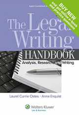9781454841555-1454841559-The Legal Writing Handbook: Analysis Research & Writing, Sixth Edition (Aspen Coursebook)