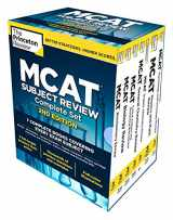 Princeton Review MCAT Subject Review Complete Boxed Set, 2nd Edition: 7 Complete Books + Access to 3 Full-Length Practice Tests (Graduate School Test Preparation)