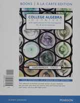 9780134397016-0134397010-College Algebra in Context, Books a la Carte Edition plus MyMathLab with Pearson eText -- Access Card Package (5th Edition)