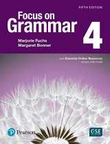 9780134583303-0134583302-Focus on Grammar 4 with Essential Online Resources (5th Edition)