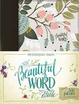 NIV, Beautiful Word Bible, Hardcover, Multi-color Floral Cloth: 500 Full-Color Illustrated Verses