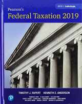 Pearson's Federal Taxation 2019 Individuals
