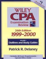 Wiley CPA Examination Review, 1999-2000, 2 Volume Set (26th Edition. 2 Volume Set)