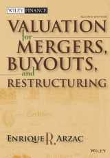 9780470128893-0470128895-Valuation: Mergers, Buyouts and Restructuring