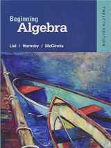 Beginning Algebra (12th Edition)