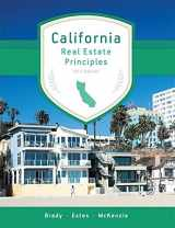 CALIFORNIA REAL ESTATE PRINCIPLES, 10.1 EDITION