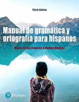 9780134639550-0134639553-Manual de gramática y ortografía para hispanos (3rd Edition) (What's New in Languages)
