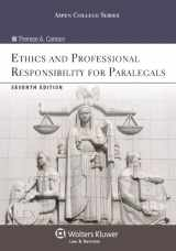 9781454831365-1454831367-Ethics and Professional Responsibility for Paralegals, Seventh Edition (Aspen College)