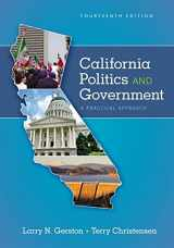 9781305953499-1305953495-California Politics and Government: A Practical Approach