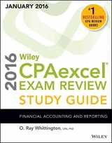 Wiley CPAexcel Exam Review 2016 Study Guide January: Financial Accounting and Reporting (Wiley Cpa Exam Review)