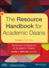 9781118720424-1118720423-The Resource Handbook for Academic Deans