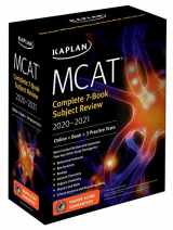 9781506248868-1506248861-MCAT Complete 7-Book Subject Review 2020-2021: Online + Book + 3 Practice Tests (Kaplan Test Prep)