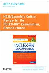 9780323297349-032329734X-HESI/Saunders Online Review for the NCLEX-RN Examination (2 Year) (Access Code), 2e