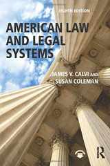 9781138654396-1138654396-American Law and Legal Systems