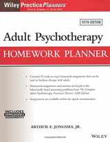 9781119278078-1119278074-Adult Psychotherapy Homework Planner (PracticePlanners)