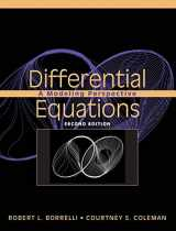 9780471433323-0471433322-Differential Equations: A Modeling Perspective