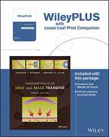 9781119338604-1119338603-Fundamentals of Heat and Mass Transfer, 8e WileyPLUS Registration Card + Loose-leaf Print Companion
