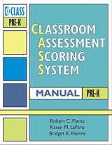 9781557669414-1557669414-Classroom Assessment Scoring System(TM) (CLASS(TM)) Manual, Pre-K (Vital Statistics)