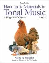 Harmonic Materials in Tonal Music: A Programmed Course, Part 2 (10th Edition) (Pt. 2)