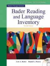 9780132943680-0132943689-Bader Reading & Language Inventory (7th Edition)