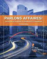 9781133311256-1133311253-Parlons affaires!: Initiation au français economique et commercial (World Languages)