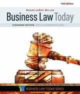 9781305644526-1305644522-Business Law Today, Standard: Text & Summarized Cases