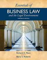 9781337555180-1337555185-Essentials of Business Law and the Legal Environment