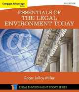 9781305262676-1305262670-Cengage Advantage Books: Essentials of the Legal Environment Today (Miller Business Law Today Family)