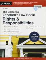 9781413323634-1413323634-California Landlord's Law Book, The: Rights & Responsibilities (California Landlord's Law Book : Rights and Responsibilities)
