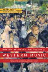 9780393936896-0393936899-Norton Recorded Anthology of Western Music (Seventh Edition)  (Vol.3: The Twentieth Century and After)