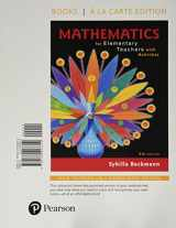 9780134423319-0134423313-Mathematics for Elementary Teachers with Activities, Books a la carte edition (5th Edition)