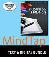 9781305939264-1305939263-Bundle: Business English, Loose-Leaf Version, 12th + LMS Integrated for MindTap Business Communication, 1 term (6 months) Printed Access Card