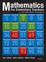 9781118457443-1118457447-Mathematics for Elementary Teachers: A Contemporary Approach