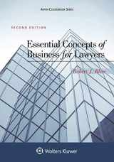 9781454870432-1454870435-Essential Concepts of Business for Lawyers (Aspen Coursebook)